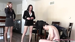 Don'_t you want to fuck us? (Nyssa Nevers and Star Nine BALLBUSTING Andrea Dipre'_) - PREVIEW