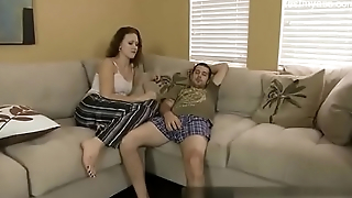 Horny Daughter seduces father for multiple fucks